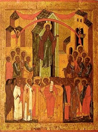 14 октября (1 октября по ст. ст.) - Покров Пресвятой Богородицы