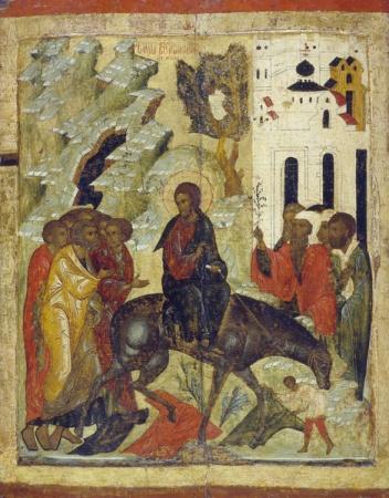 Митрополит Антоний (Орлов). Вход Господень в Иерусалим. 2013