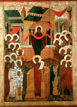 Покров Пресвятой Богородицы - 14 октября (1 октября ст. ст.)